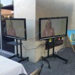 Mobilny stojak na TV